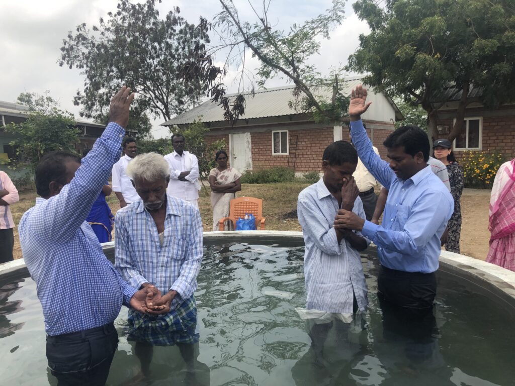 Baptisms in India in early 2020