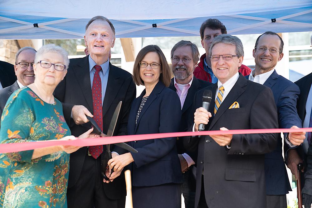 IIW Grand Opening ribbon cutting on Nov. 22, 2019
