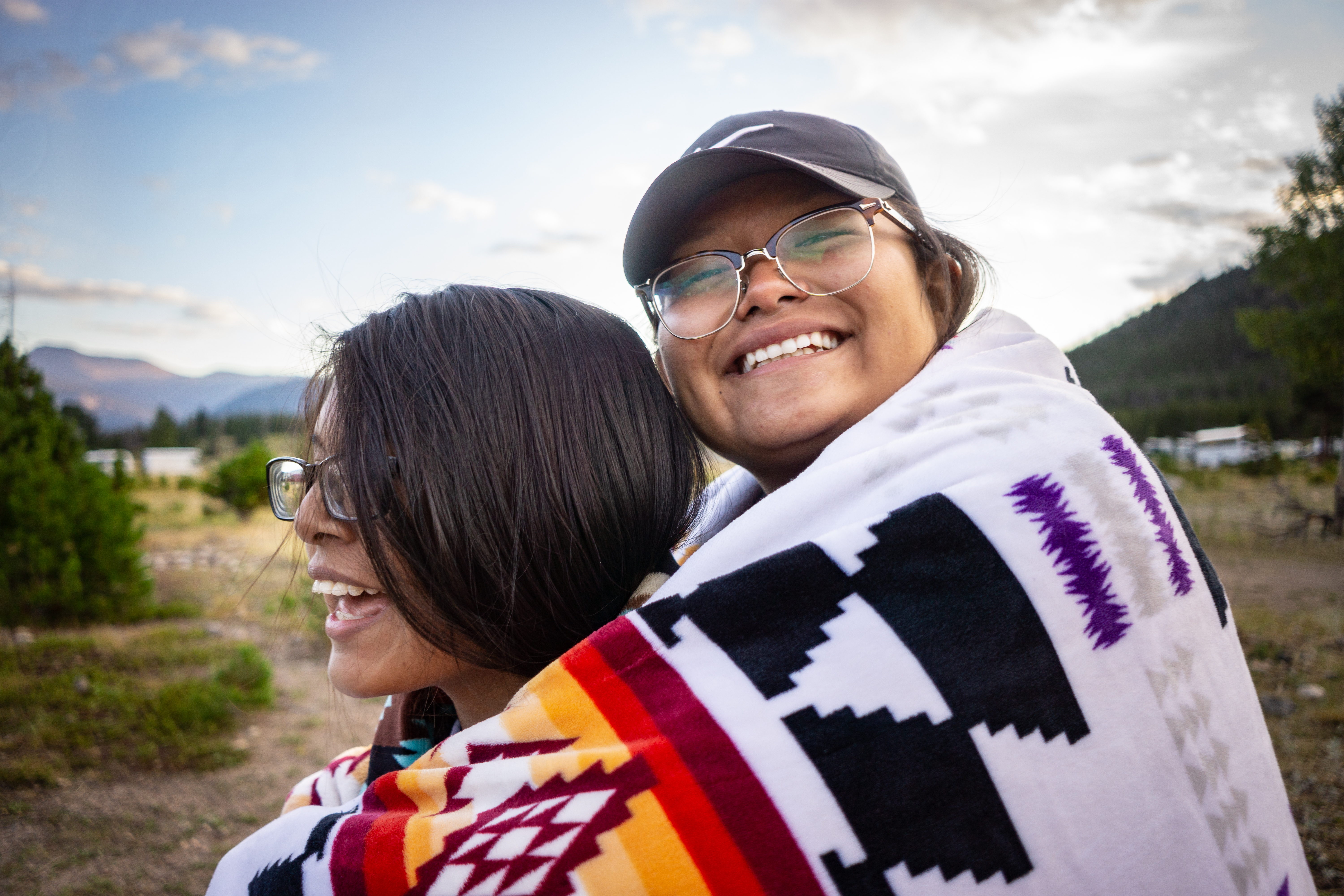A student of Holbrook Indian School, a Seventh-day Adventist boarding school in Holbrook, Arizona that provides a safe haven for Navajo children, smiles during an activity from last school year.