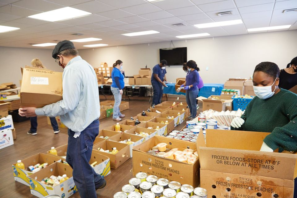 Harbor of Hope Food Pantry in Michigan. Photo Credit: Victor Rayno
