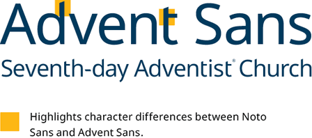 Brand Guide - Advent Sans