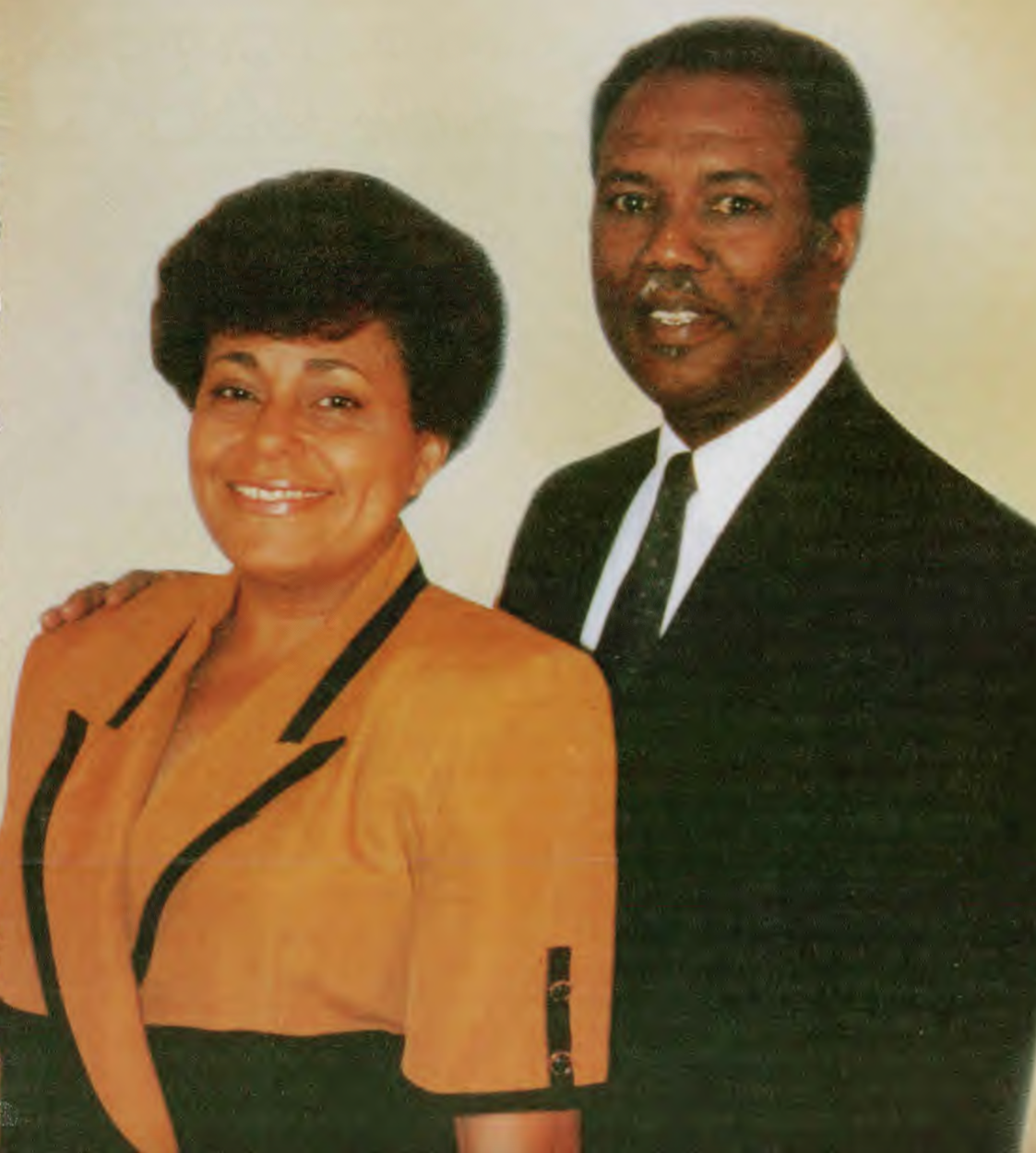 Shirley and Harold Baptiste