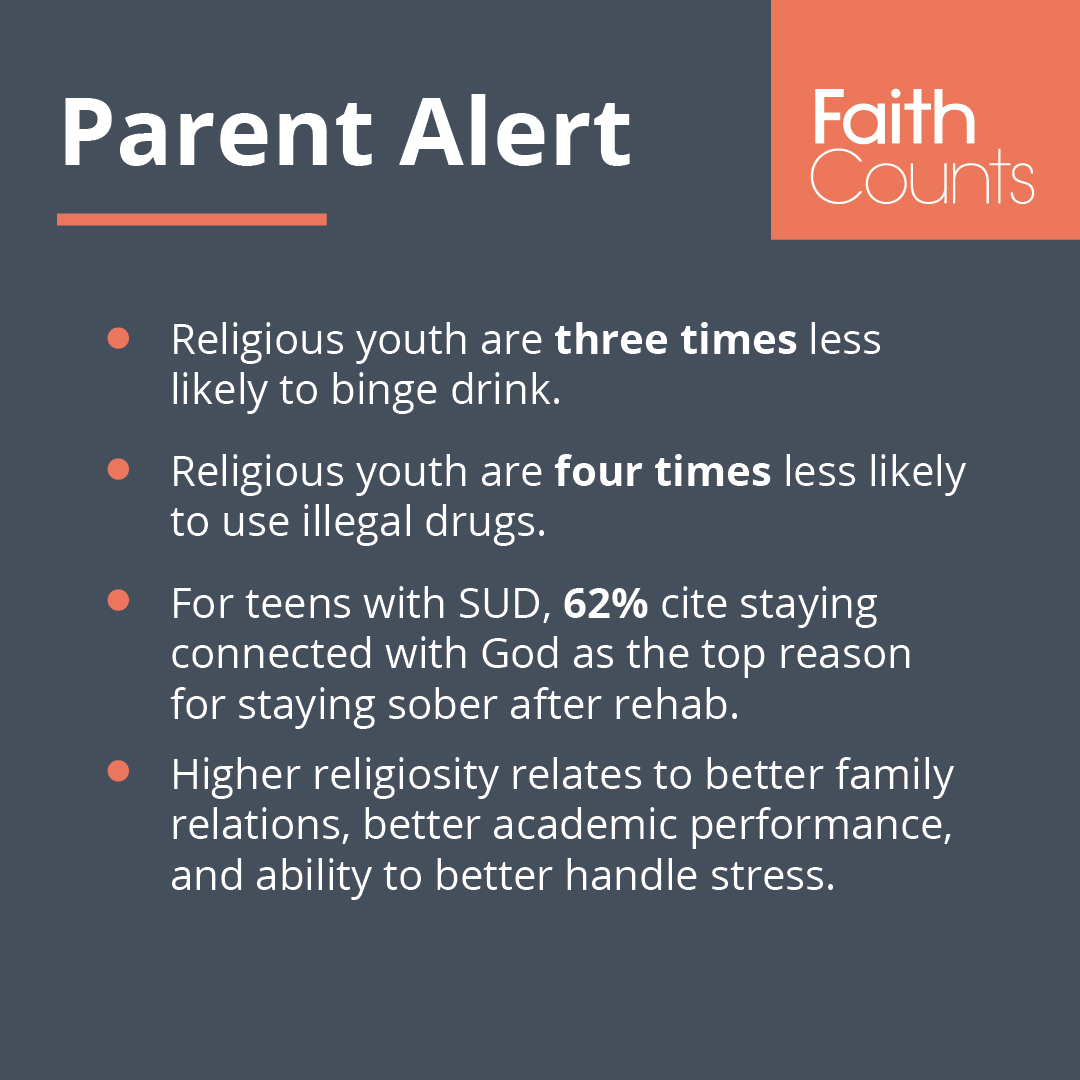 Faith Counts parent alert