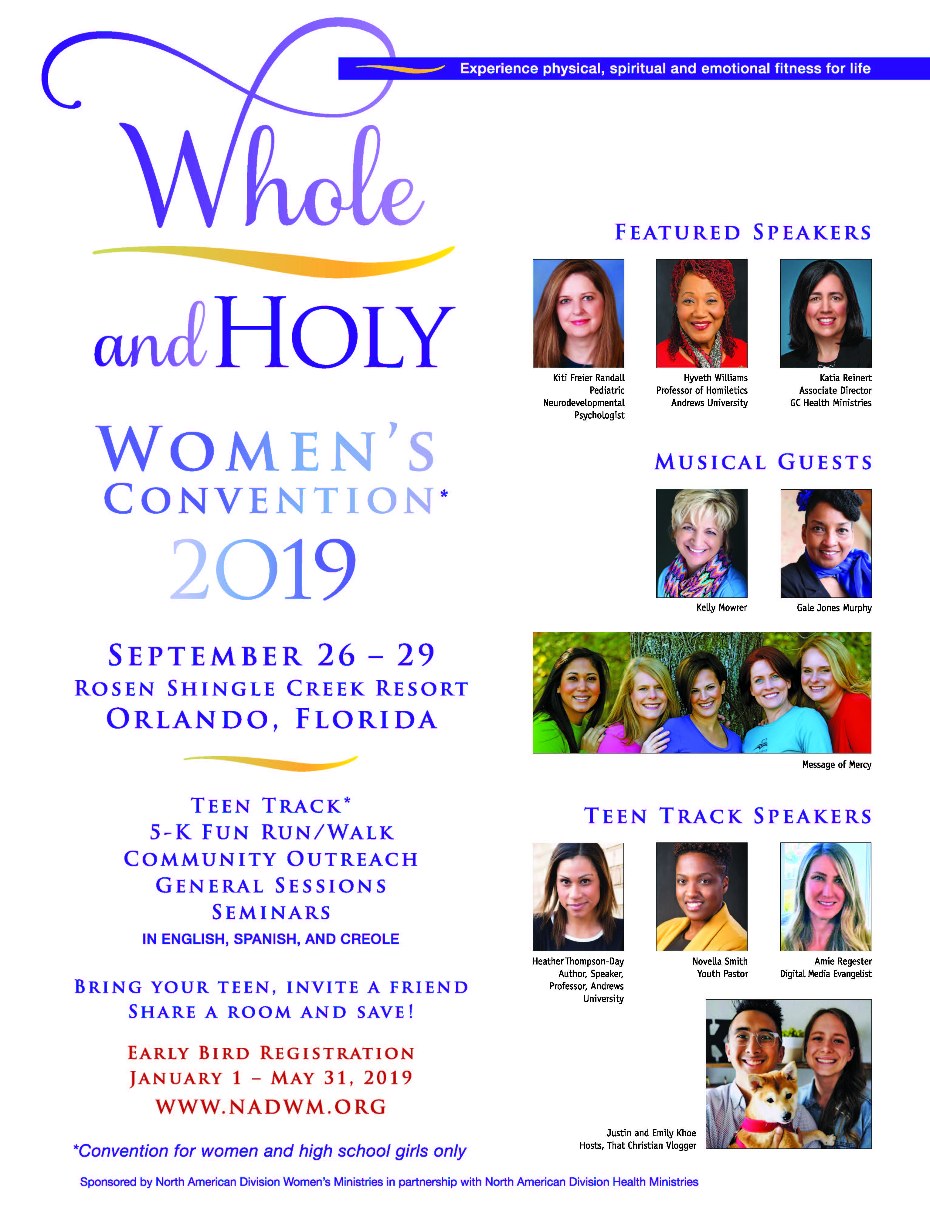 Whole and Holy Women's Convention