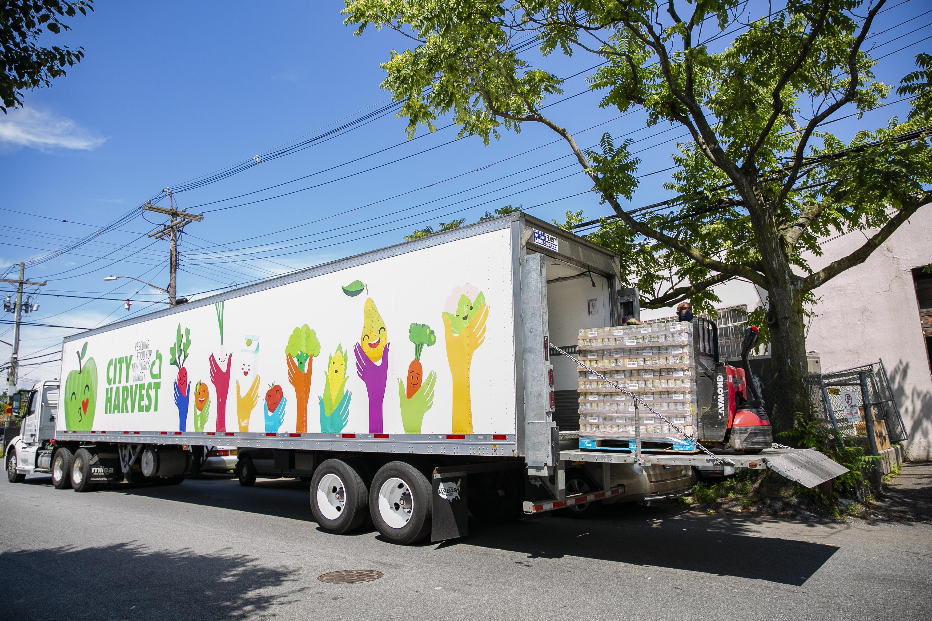 City Harvest truck
