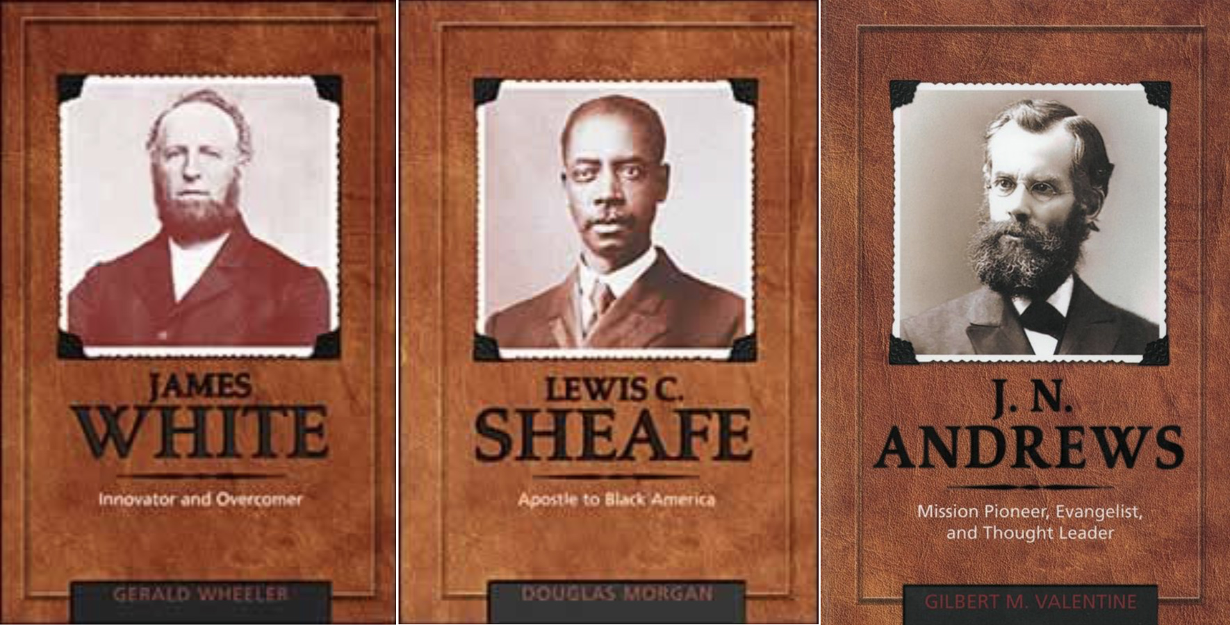 Adventist Biography Series three covers
