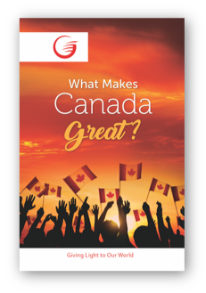 Make Canada Great LE Glow tract cover