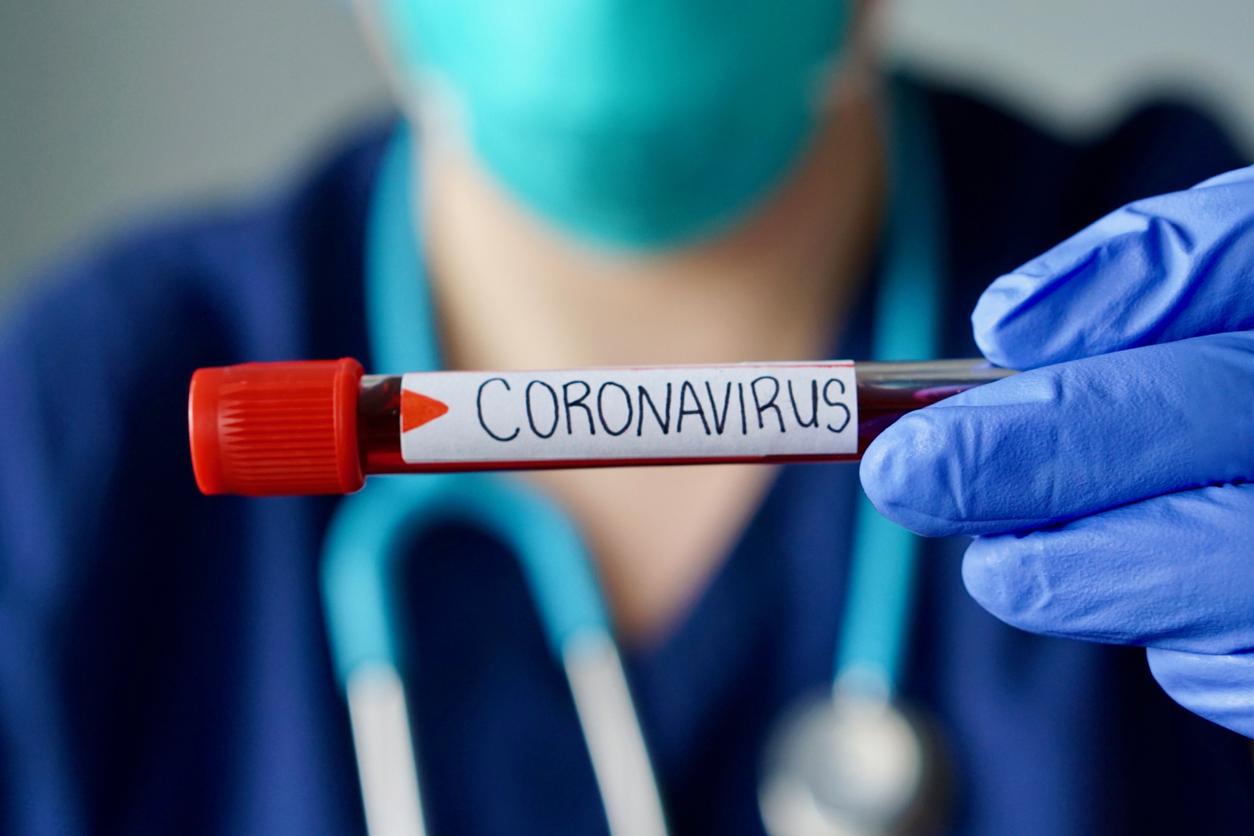 coronavirus and nurse