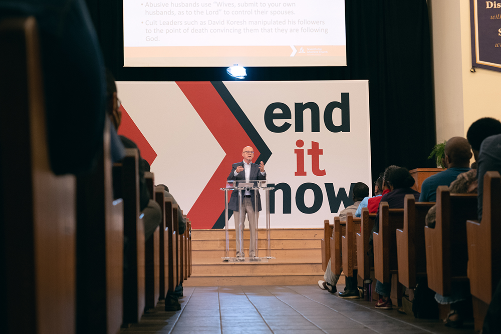 enditnowNAD summit on Abuse David Sedlacek speaker