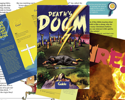 Guide magazine Death's Doom special issue fall 2020