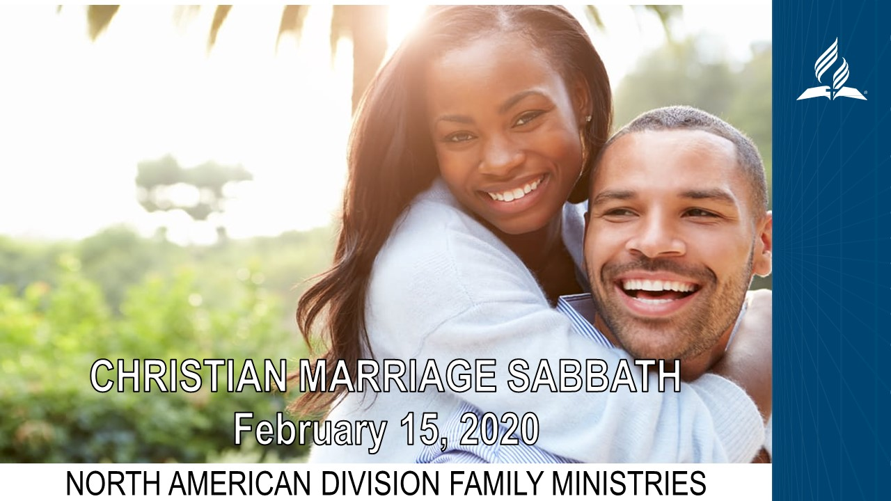 Christian Marriage Sabbath