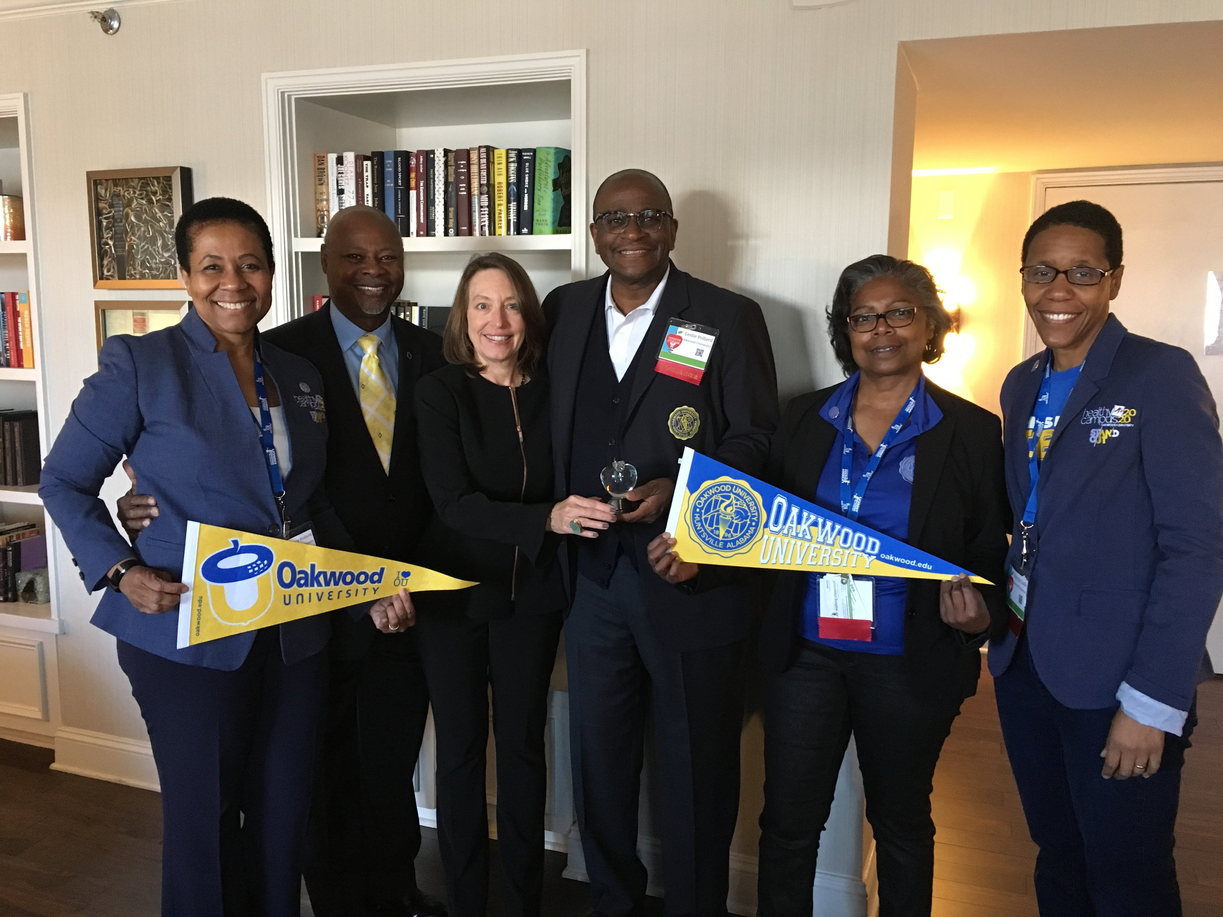 Oakwood University receives recognition for Healthy Campus 2020 initiative