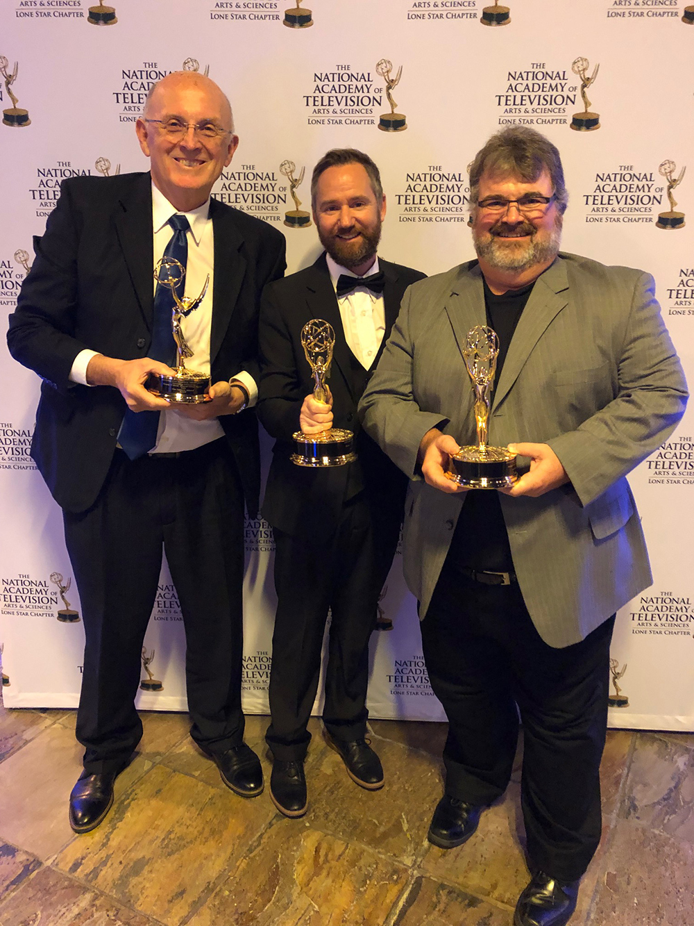SWAU communication department receives an Emmy award on Nov. 10, 2018