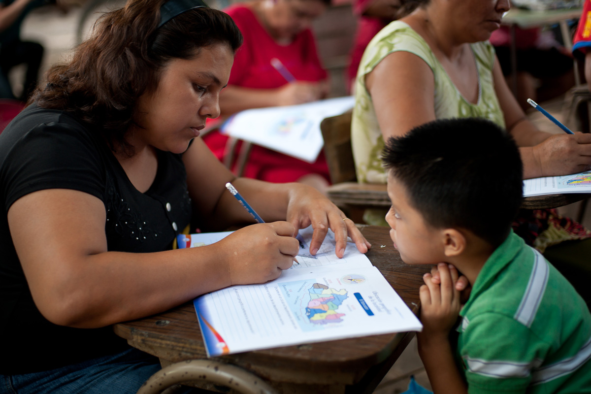 El Salvador Partners in Mission literacy program