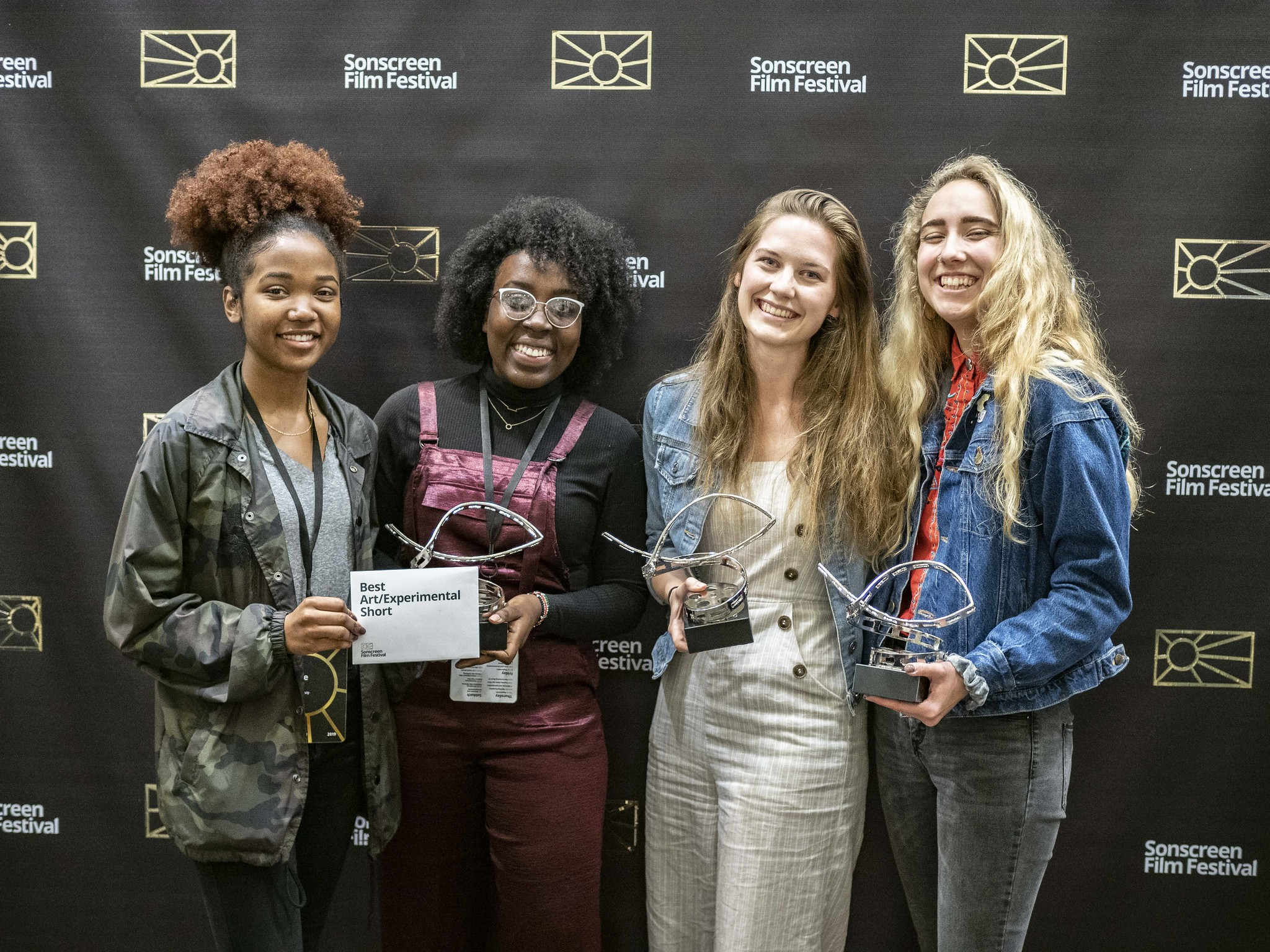 a few Sonscreen 2019 award winning filmmakers